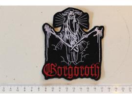 GORGOROTH - RED NAME LOGO