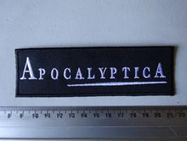 APOCALYPTICA - WHITE NAME LOGO