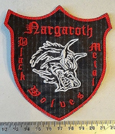NARGAROTH - BLACK METAL WOLVES ( RED BORDER )
