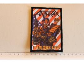 ANTHRAX - I AM THE LAW ( ORIGINAL 1987 ) PRINT
