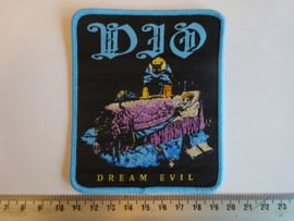 DIO - DREAM EVIL ( BLUE BORDER ) WOVEN