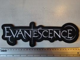EVANESCENCE - WHITE LOGO