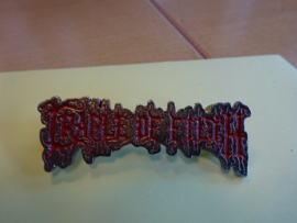 CRADLE OF FILTH - RED NAME LOGO