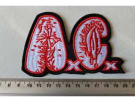 ANAL CUNT - RED/WHITE NAME LOGO