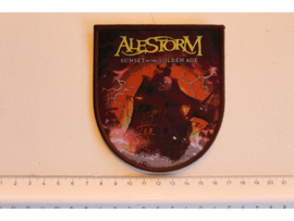 ALESTORM - SUNSET ON THE GOLDEN AGE ( BROWN BORDER ) WOVEN