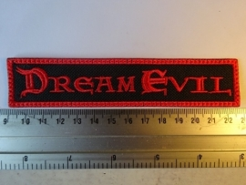 DREAM EVIL - RED LOGO