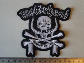 MOTORHEAD - MARCH OR DIE ( SHAPED )