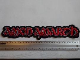 AMON AMARTH - RED LOGO ( STRIP )