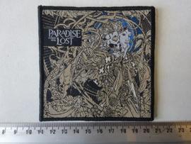 PARADISE LOST - TRAGIC IDOL ( WOVEN, BLACK BORDER )