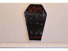 SLAYER - WAR ENSEMBLE ( WHITE BORDER ) WOVEN