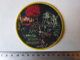 ACID WITCH - WITCHTANIC HALLUCINATIONS ( YELLOW BORDER ) WOVEN