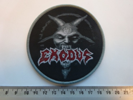 EXODUS - UGLY WARHEAD ( GREY BORDER ) WOVEN