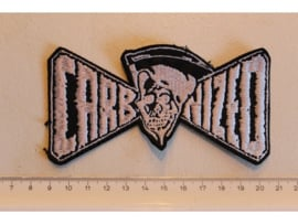 CARBONIZED - WHITE NAME LOGO