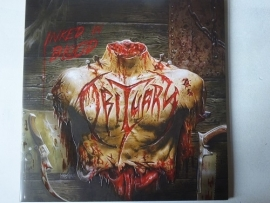 OBITUARY - INKED IN BLOOD ( EMBOSSED SLEEVE )