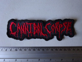 CANNIBAL CORPSE - RED NAME LOGO ( 2 )