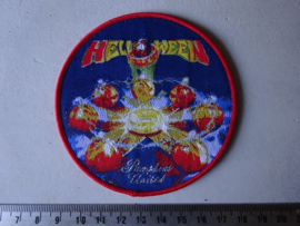 HELLOWEEN - PUMPKINS UNITED ( RED BORDER ) WOVEN