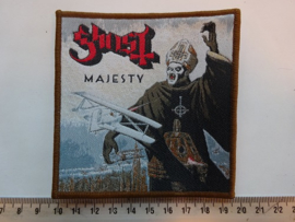GHOST - MAJESTY ( BROWN BORDER ) WOVEN