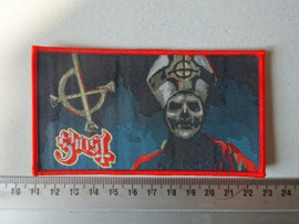 GHOST - GHOST  ( RED BORDER ) WOVEN