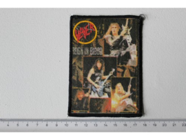 SLAYER - REIGN IN BLOOD ( ORIGINAL 1987 ) PRINT
