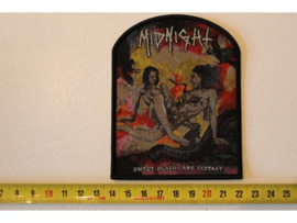 MIDNIGHT - SWEET DEATH AND ECSTASY ( BLACK BORDER ) WOVEN