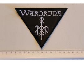 WARDRUNA - WHITE NAME LOGO ( TRIANGLE )