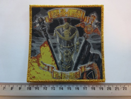 RUNNING WILD - THE RIVALRY ( GOLD BORDER ) WOVEN