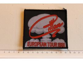 IAN GILLAN ( DEEP PURPLE ) - EUROPEAN TOUR 1981 ( WOVEN )