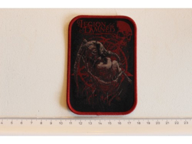 LEGION OF THE DAMNED - THE ELEPHANT MAN ( RED BORDER ) WOVEN