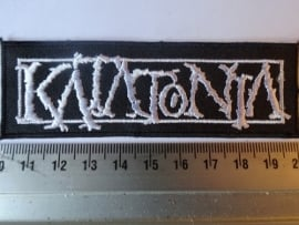 KATATONIA - WHITE LOGO ( NEW )