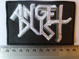 ANGEL DUST - WHITE/GREY LOGO