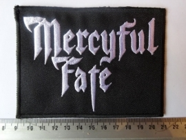 MERCYFUL FATE - WHITE LOGO