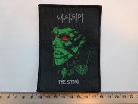 W.A.S.P. - THE STING ( BLACK BORDER ) WOVEN