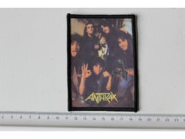 ANTHRAX - BAND PHOTO ( ORIGINAL 80'S ) PRINT