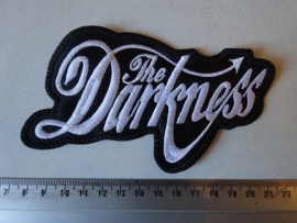 THE DARKNESS - WHITE NAME LOGO