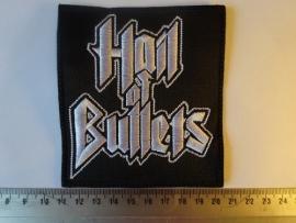 HAIL OF BULLETS - WHITE LOGO