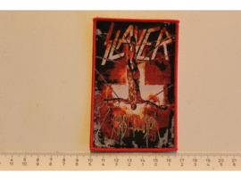 SLAYER - CHRIST ILLUSION ( RED BORDER ) WOVEN