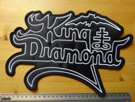 KING DIAMOND - WHITE LOGO