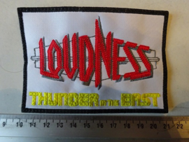 LOUDNESS - THUNDER IN THE EAST ( BLACK BORDER )