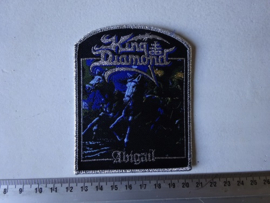 KING DIAMOND - ABIGAIL ( SILVER BORDER ) WOVEN