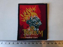 TRIVIUM - ASCENDANCY ( BLACK BORDER ) WOVEN