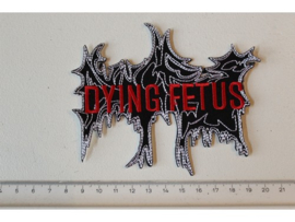 DYING FETUS - RED NAME LOGO