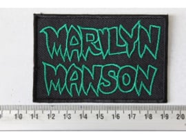 MARILYN MANSON - GREEN NAME LOGO