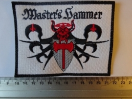 MASTER'S HAMMER -  WHITE/RED/BLACK LOGO