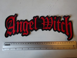 ANGEL WITCH  - RED NAME LOGO
