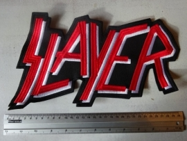 SLAYER - RED/WHITE LOGO