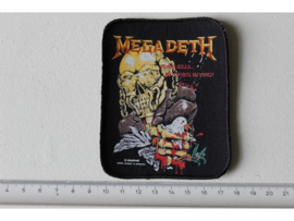 MEGADETH - PEACE SELLS.. BUT WHO IS BUYING ( ORIGINAL 1987 ) PRINT