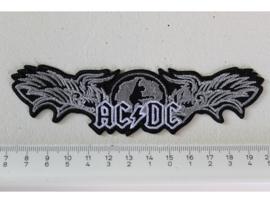 AC/DC - STIFF UPPER LIP ( WINGS LOGO )