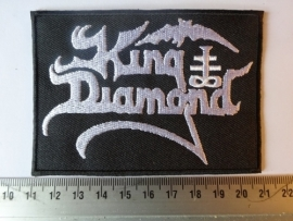 KING DIAMOND - WHITE LOGO ( DIFFERENT )