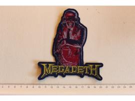 MEGADETH - HANGAR 18 ( WOVEN )