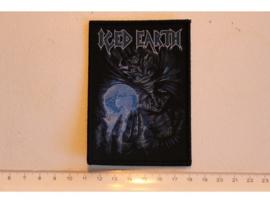 ICED EARTH - ICED EARTH  ( BLACK BORDER ) WOVEN